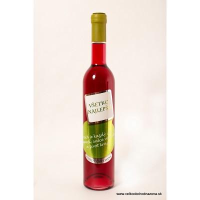 Darčekové víno - Všetko najlepšie