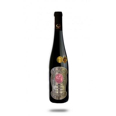 0,75 L Darčekové víno Červené Renana Kovová etiketa 25 rokov