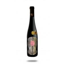 0,75 L Darčekové víno Červené Renana Kovová etiketa 45 rokov