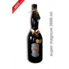 3000ml  Darčekové víno červené 25,35,45,55,65,80 rokov super magnum