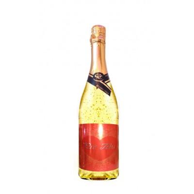 Zlaté šumivé 0,75 l  Valentín