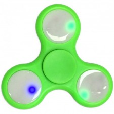 Fidget Spinner LED Zelený