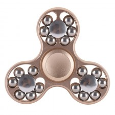 Fidget Spinner Real steel 18 ball GOLD