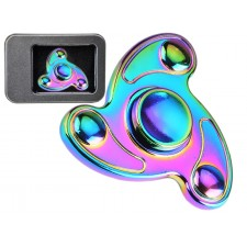Fidget Spinner REAL STEEL rainbow ball