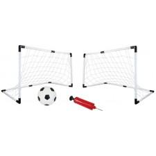Futbalové bránky mini 4v1 120x57x63cm