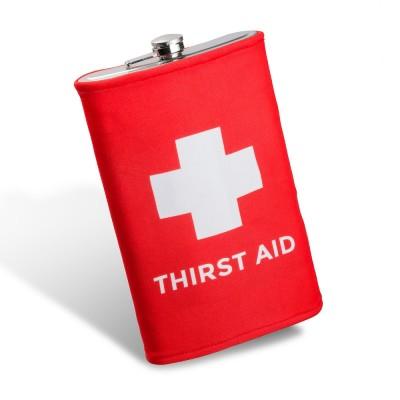 Gigantická ploskačka - thirst aid