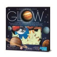GLOW: Planéty a hviezdy