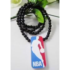 Good wood náhrdelník NBA čierny