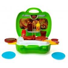 Grilovací kufrík pre deti