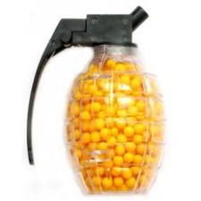Guličky obyčajné v granáte žlté
