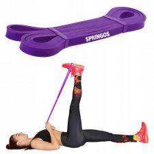 Guma na cvičenie - odpor 12-18kg - fialová