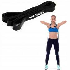 Guma na cvičenie - odpor 18-27kg - čierna