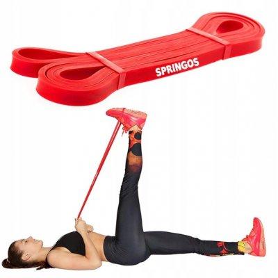 Guma na cvičenie - odpor 6-11kg - červená