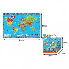 Hracia podložka – Mapa sveta