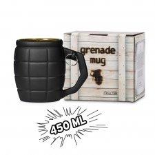 Hrnček Granát 450 ml - čierny