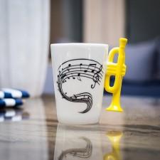 Hudobný hrnček TRUMPET
