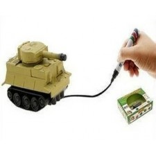 Indukčné vozidlo s fixkou - tank