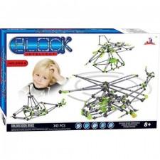 Intellect Block 252-2 – Konštrukčná stavebnica – 343 ks