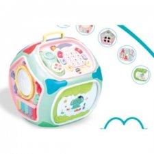Interaktívna kocka pre deti so 7 stranami