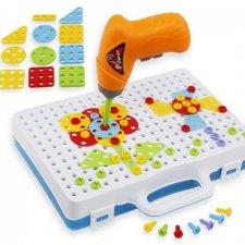 Interaktívne puzzle so skrutkovačom