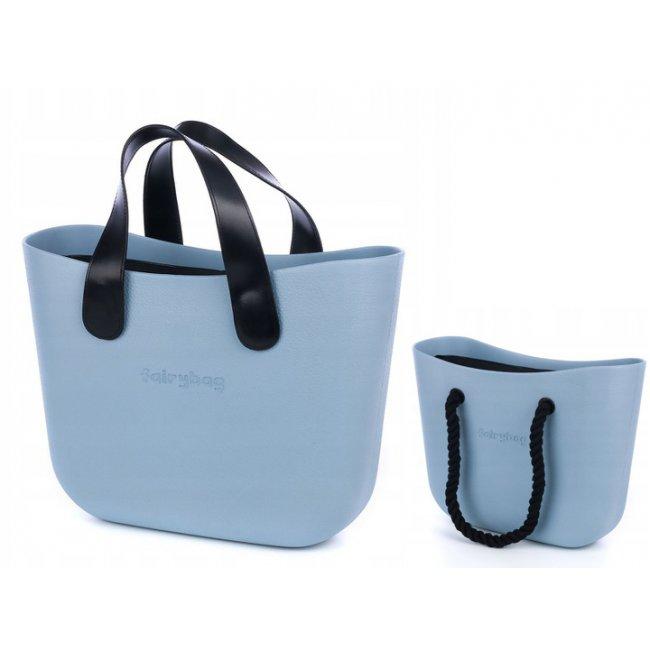 d7812bad20 Kabelka 0 BAG s rúčkami - svetlo modrá