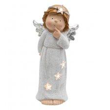 Keramická figúrka, anjel