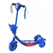 Kolobežka svietiaca - hracia Modrá - SPRINGOS