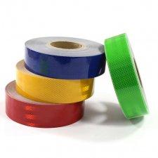 Kontúrovacia reflexná páska 100x5cm - žltá