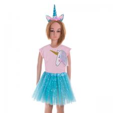 Kostým na karneval: Baletka Jednorožec - modrý