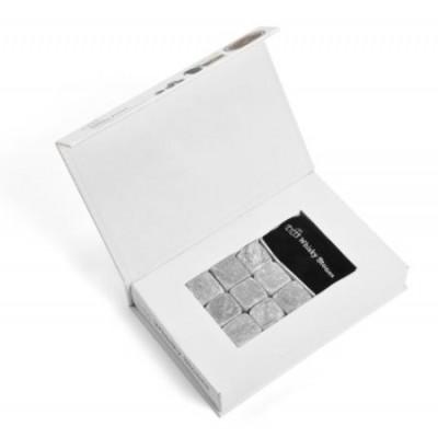 Kovové kocky do nápojov BOX 9ks