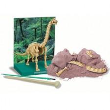 Kreatívna sada skladacie kostry Brachiosaurus