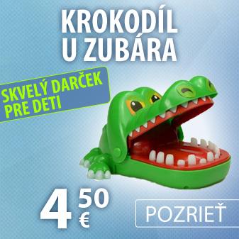 Krokodíl u zubára