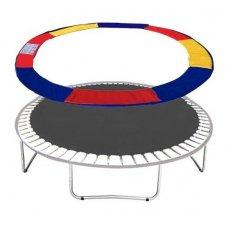 Kryt na trampolínu 244cm - farebný