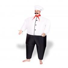 Kuchár - nafukovací kostým