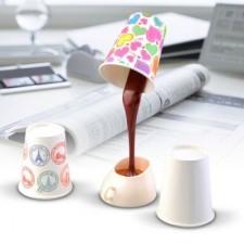 Lampa rozliata káva