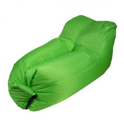 Lazy bag – nafukovacie kreslo: zelené