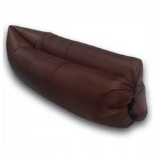 Lazy bag – nafukovací vak: hnedý