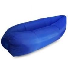 Lazy bag – nafukovací vak: tmavo modrý