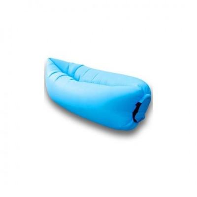 Lazy bag – nafukovací vak: svetlo modrý