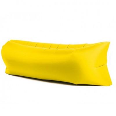 Lazy bag – nafukovací vak: žltý