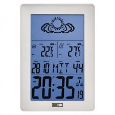 LCD domáca bezdrôtová meteostanica E5063