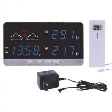 LCD domáca bezdrôtová meteostanica E5201