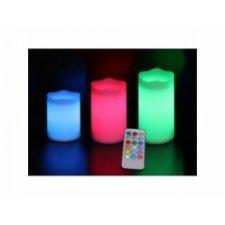 LED RGB sviečky – 3ks