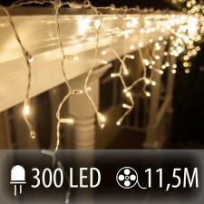 LED SVETELNÁ ZÁCLONA 300LED 11.5M TEPLÁ BIELA