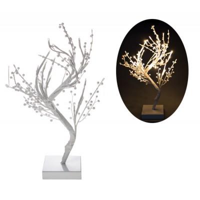 LED vianočná ozdoba BONSAJ 32 Led 45 cm Teplá biela