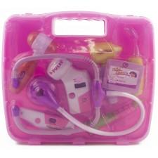 Lekársky kufrík – svetlo rúžový
