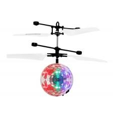 Lietajúca RC Disco guľa vrtuľník