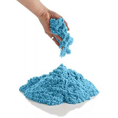 Magický kinetický piesok 1kg modrý