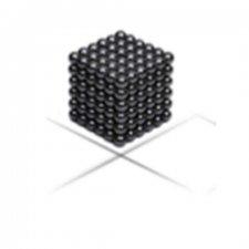 Magnetické guličky NeoCube 3mm - 216ks - čierne + box