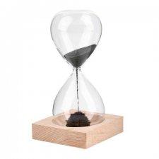 Magnetické presýpacie hodiny s kovovými vláknami